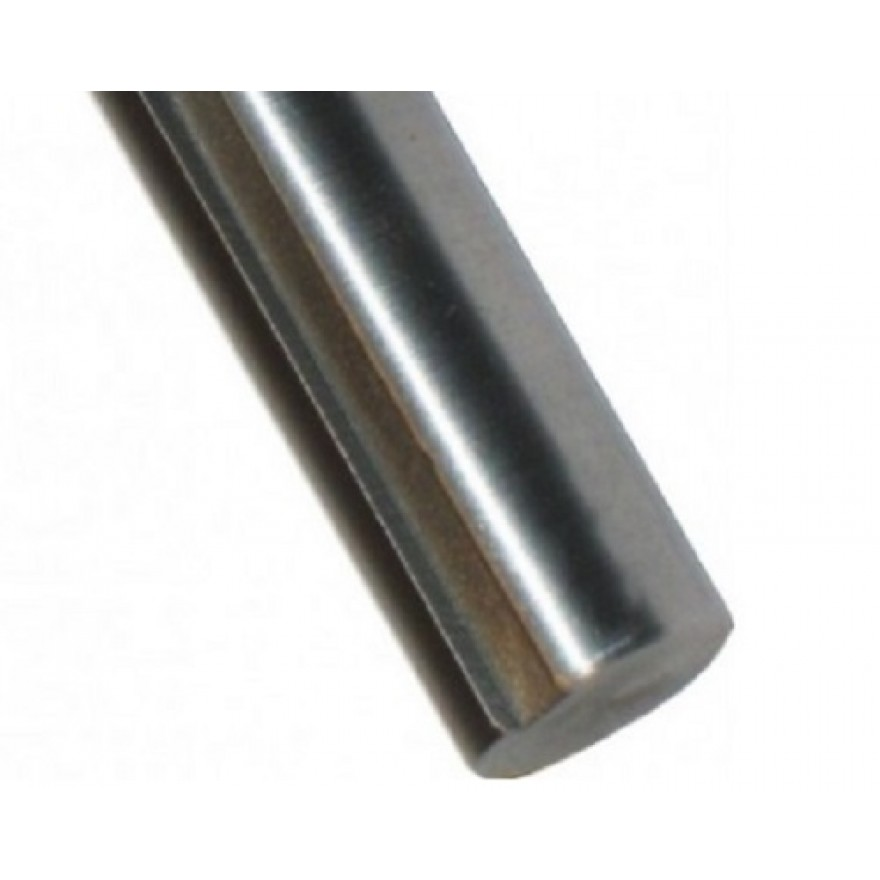 Silver Steel Round 1.2210-115crv3 h9 D = 22mm Cutting Length 1000mm