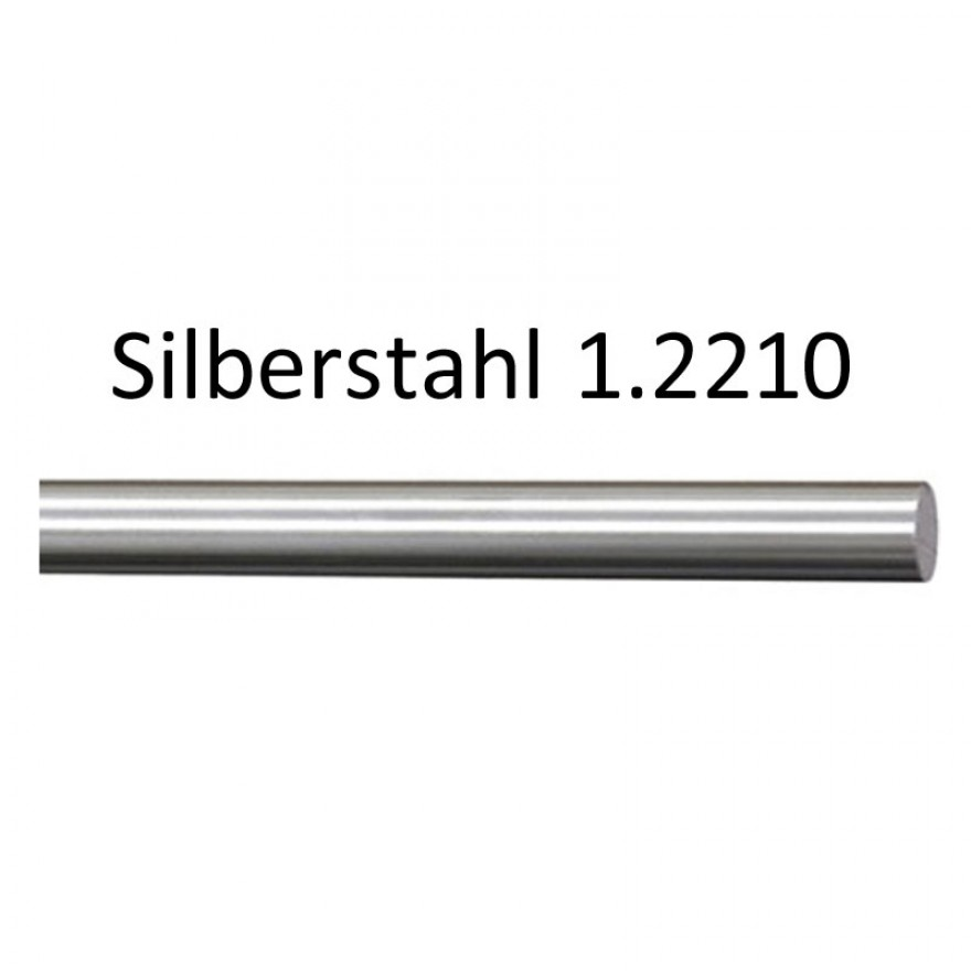 D 18 mm Tempered steel C45 cut to length 1000 mm C//SH round