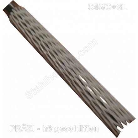 Tool STEEL 1.2379 Round-D 35mm-Cut 250mm Long