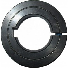 Clamping rings steel C45 slotted with keyway