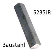 Baustahl S235JR 250mm lang Vierkant Zuschnitt 30mm